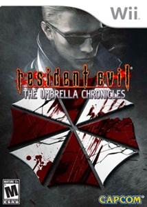 Capa Resident Evil The Umbrella Chronicles