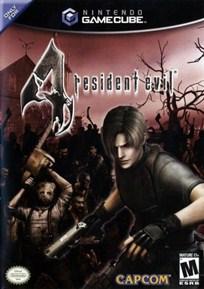 Capa Resident Evil 4