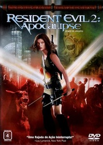 Capa Resident Evil 2 Apocalipse