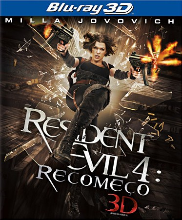 Capa Resident Evil 4: Recomeço