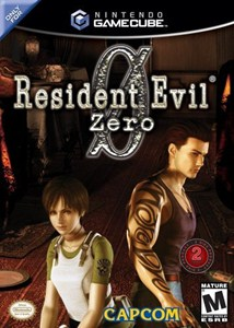 Capa Resident Evil Zero