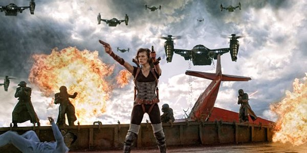 Primeira imagem oficial de Resident Evil 5 – Retribuição