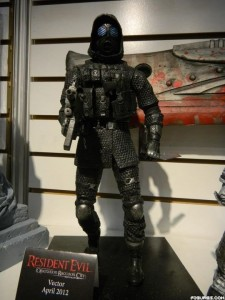 NECA exibe action figure de Resident Evil: Operation Raccoon City