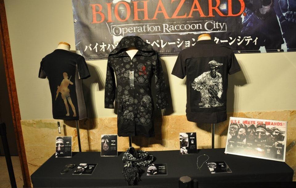 Capcom lança drinks e roupas temáticos de Resident Evil: Operation Raccoon City