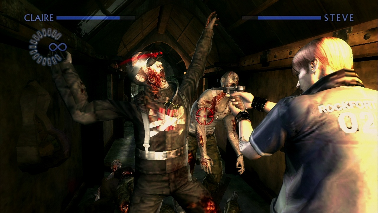 Imagens inéditas de Resident Evil Chronicles HD Collection