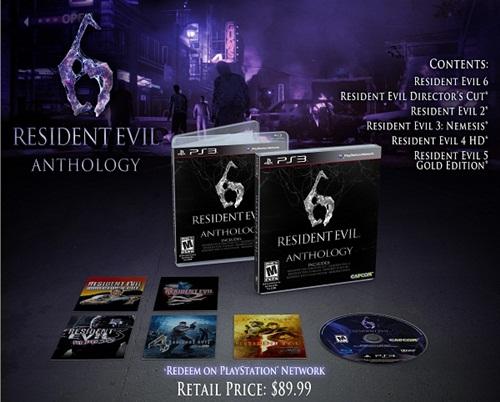 Novas informações sobre Resident Evil 6 Archives e Anthology