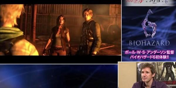 Paul Anderson joga versão demo de Resident Evil 6