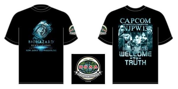 Grife cria camiseta oficial de Resident Evil: Revelations