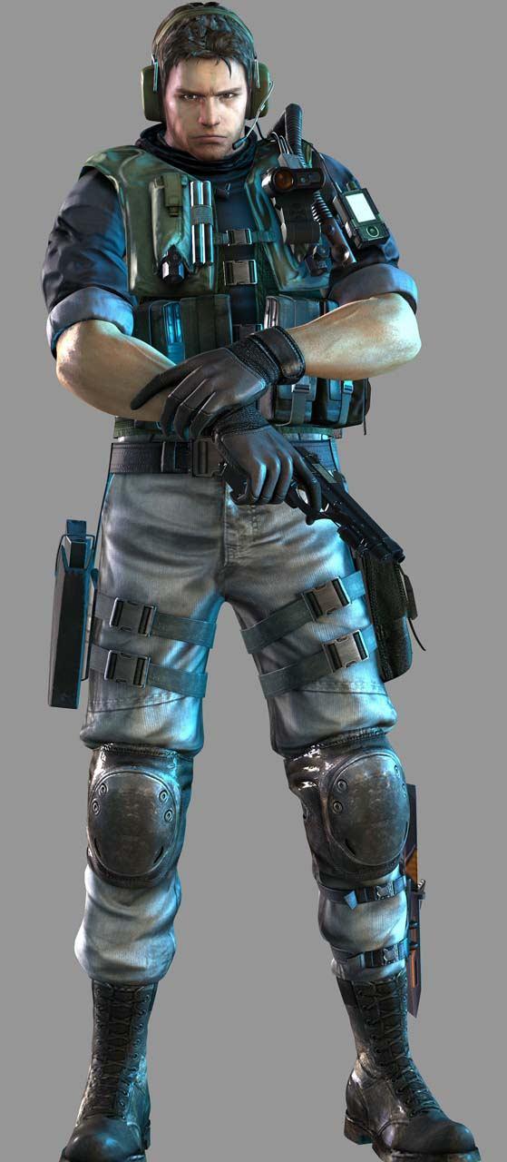 Perfil: Chris Redfield - Resident Evil SAC